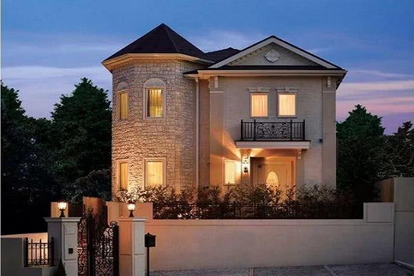 别墅装修设计城堡,悠享最静谧的尊贵时光