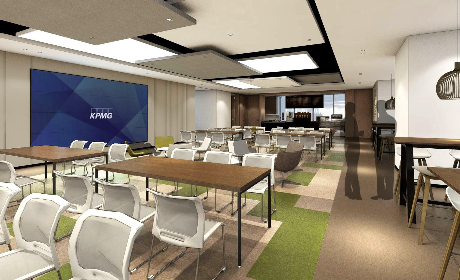 【办公设计】上海恒隆广场毕马威办公楼项目