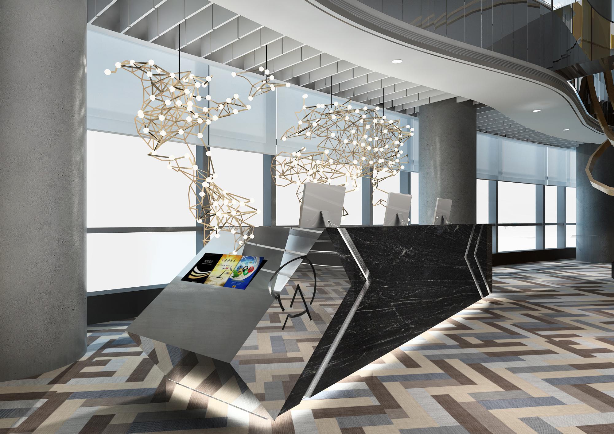 【办公设计】广州雅居乐中心ATLAS寰图联合办公空间