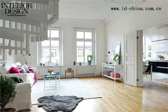 哥德堡的独特顶楼复式公寓