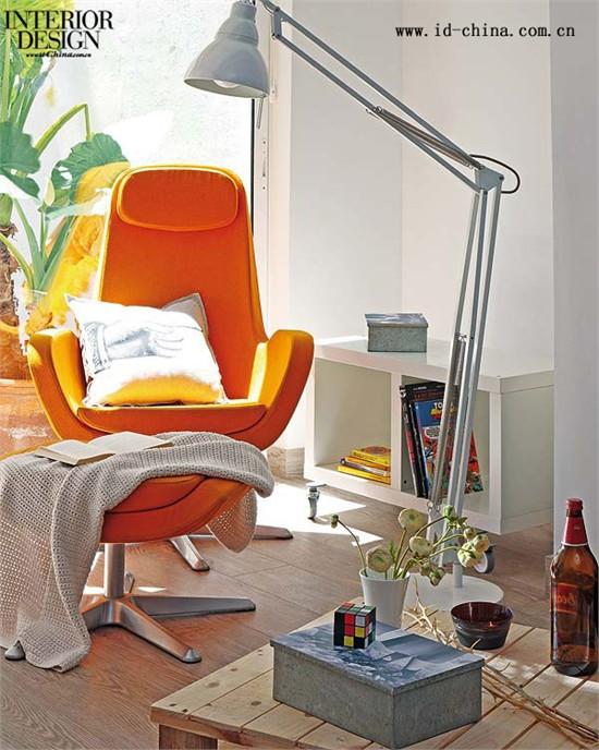 混乱嬉皮--西班牙设计师巴塞罗那小公寓设计欣赏