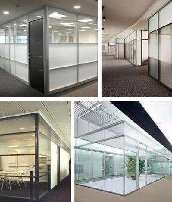 办公室装修的最佳选择,玻璃隔断