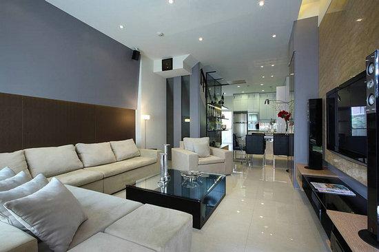 挑高空间 时尚优雅的别墅设计