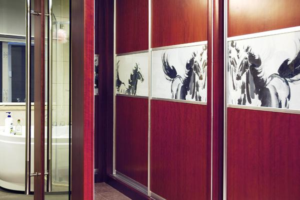 上海别墅装修-入口实景图