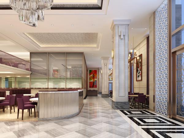 饭店装修设计零点餐厅效果图