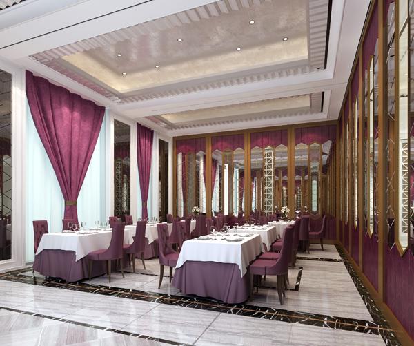 饭店装修设计餐厅效果图