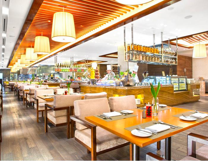 苏州金鸡湖饭店餐厅实景图1