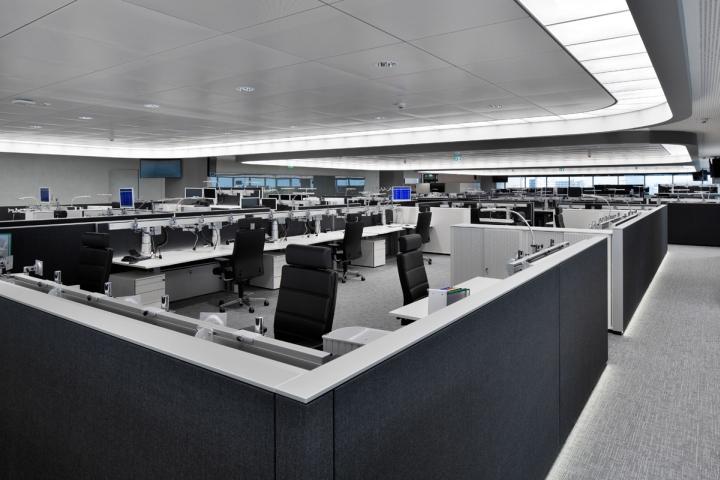 办公区装修照明实景图3