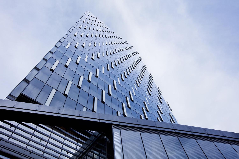 办公楼设计-办公楼全景