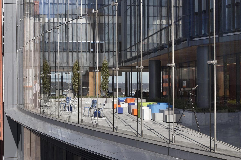 办公楼设计-室内观景
