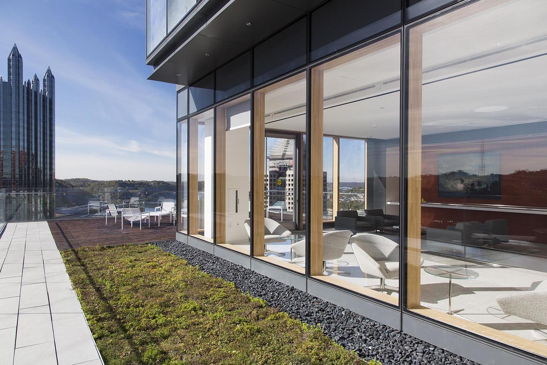 办公楼设计-室外休息区