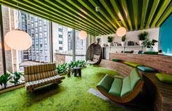 多彩温馨办公室装修设计创意案例