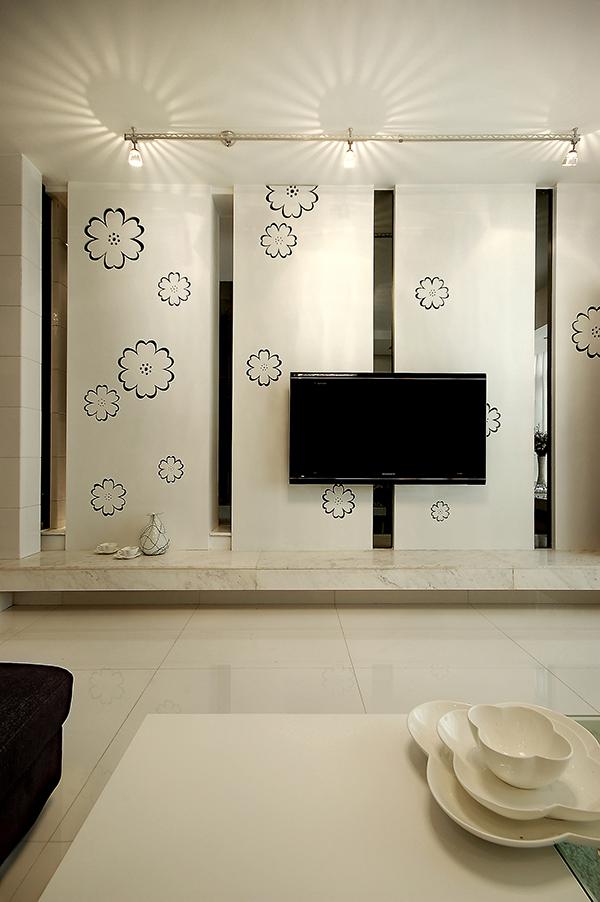 家装样板房装修设计黑白大写意
